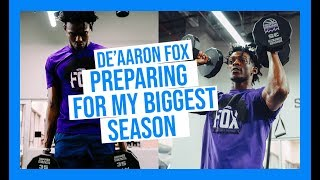 De'Aaron Fox Shows How He Preps For Biggest Season Yet FT. NBA Workout and 1V1 vs The Green Team🏀