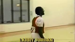 Michael Jordan jugando contra… su hermano Larry