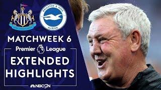 Newcastle United v. Brighton | PREMIER LEAGUE HIGHLIGHTS | 9/21/19 | NBC Sports