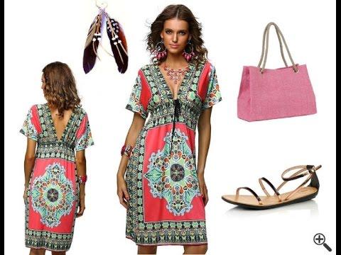 Günstige Strandkleider für große Größen + Strand Outfit Ideen