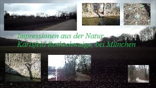preview picture of video 'Winter Impressionen in der Natur bei Karlsfeld Rothschwaige im Februar'