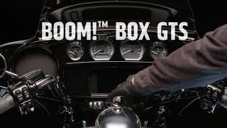 2019 Boom! Box GTS Infotainment - Closer Look | Harley-Davidson