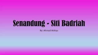 Gambar cover Senandung - Siti Badriah Full Lyrics