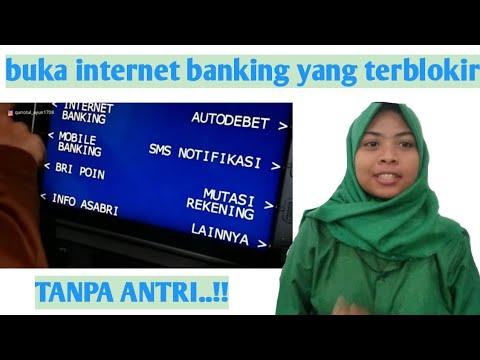 cara membuka blokir internet banking bri