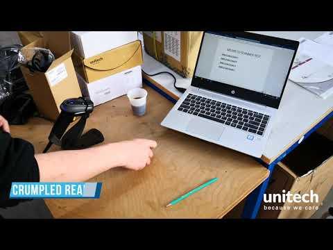 Unitech MS339 Rugged 2D Barcode Scanner  video thumbnail