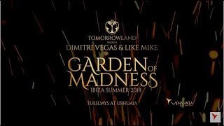 Tomorrowland Presents Dimitri Vegas  Like Mike  Garden of Madness