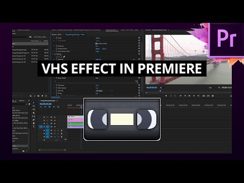 Download Vhs Camera Look Premiere Pro Cc 2017 Tutorial Video 3GP Mp4