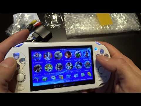 China Handheld Konsole im PS Vita Style # Review Test & Unboxing Deutsch
