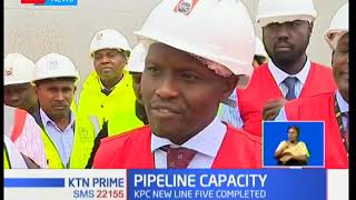 KPC is banking on its newly installed line five pipeline to grow the volume of petroleum products
