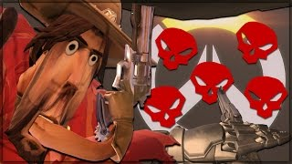 McCrees MAXIMUMs Possible in Overwatch! (Testing, Mythbusting and Shenanigans - HIGH NOON IS WEIRD)