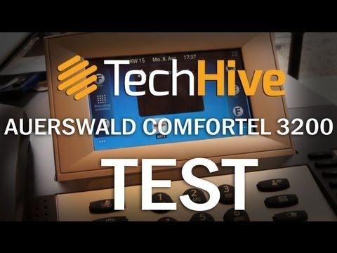 Auerswald COMfortel 3200 mit Android und Touchscreen im Test