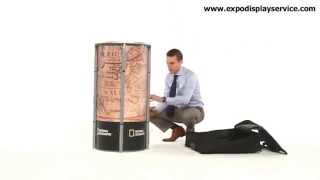 Portable Display Counter For Events, Shows And Exhibition Design