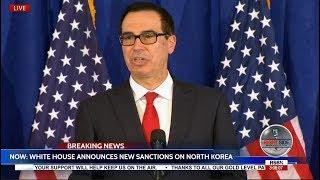 WHITE HOUSE Announces New NORTH KOREA Sanctions 9/21/17