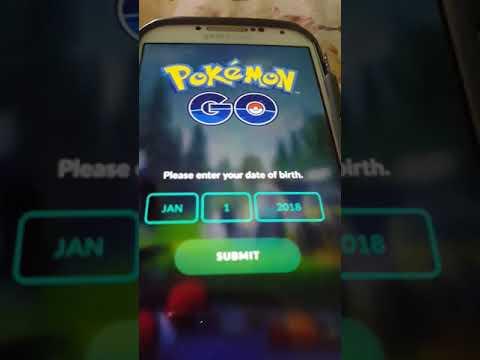 How to login to Pokemon go