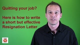 Quitting Your Job? How to Write a Resignation Letter