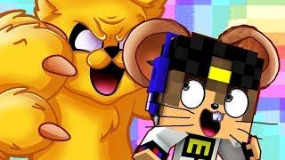 КОШКИ МЫШКИ Нуб и Про против ловушки Игра Майнкрафт в Реальной жизни Видео Для детей Мультик Дети