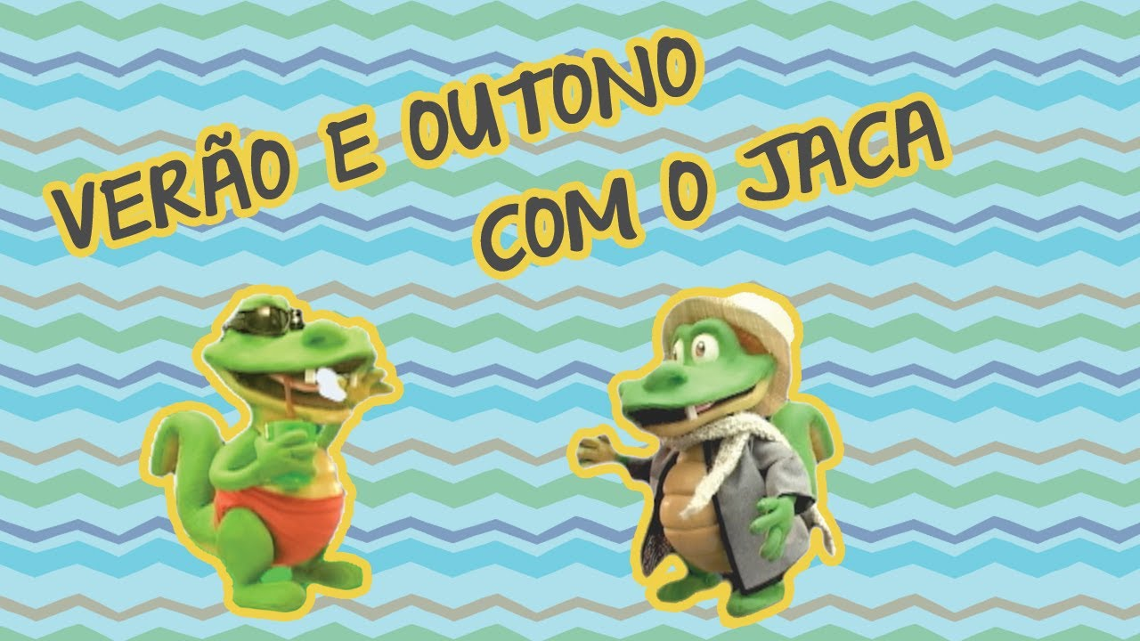 VERÃO E OUTONO COM O JACA | BEBÊ MAIS NATUREZA