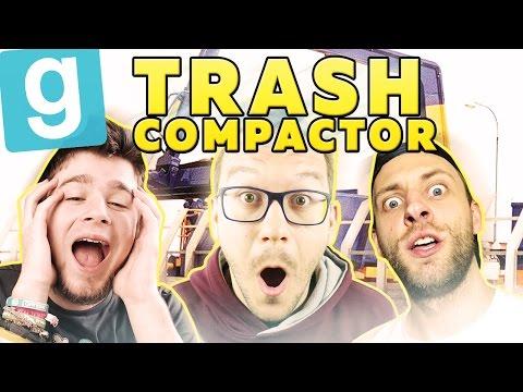 JAK OSZUKALIŚMY IGNACEGO! | Garry's mod (With: Mandzio, Ignacy, Kubson) #492 - Trash Compactor [#10]