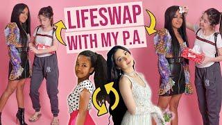 HOLIDAY LIFESWAP WITH MY P.A. (MAS MAGANDA PA SIYA SAAKIN WAA!!)