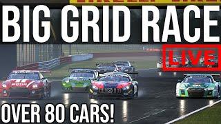 Taking Part In The 80+ Car Assetto Corsa Competizione Big Grid Race