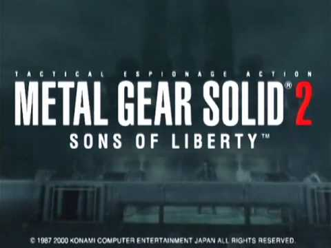 Metal Gear Solid 2 Sons of Liberty - Trailer - ECTS 2000 - PS2