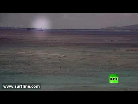 العرب اليوم - شاهد: لحظة سقوط المقاتلة الأميركية