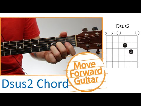 Guitar Chords for Beginners - Dsus2