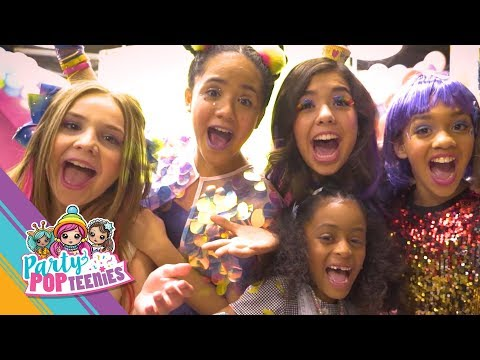 "PARTY POPTEENIES™ | Behind The Scenes -""Everyone's Invited"" Official Music Video"