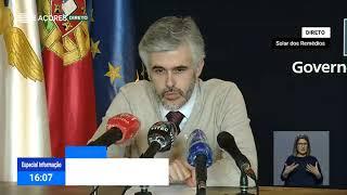 02/05: Ponto de Situação da Autoridade de Saúde Regional sobre o Coronavírus nos Açores