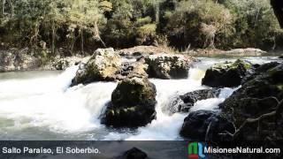 preview picture of video 'Salto Paraíso, El Soberbio. Misiones Natural'