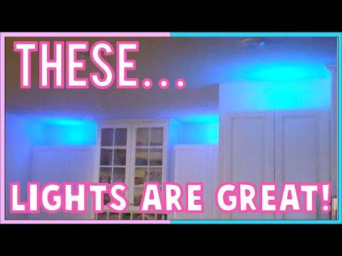 BEST Puck Lights, BEST Under Cabinet Kitchen Lights, DIY Centerpiece Lights, DIY KITCHEN LIGHTS