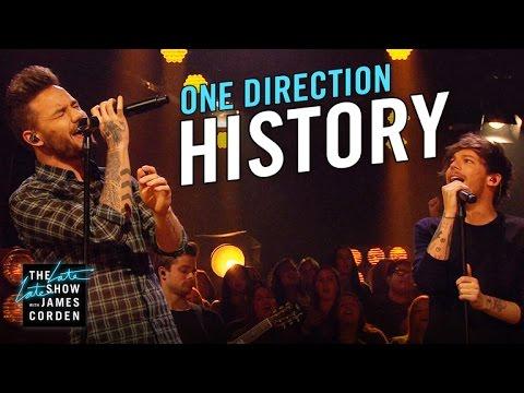 One Direction: History (видео)