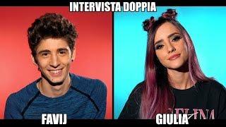 FAVIJ & GIULIA PENNA   INTERVISTA DOPPIA