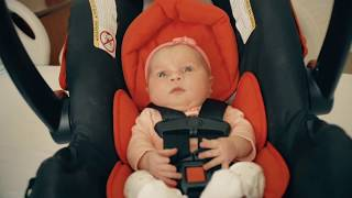 How to place your baby in a car seat