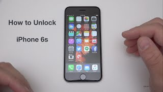 How to Unlock iPhone 6s