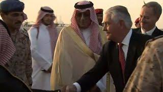 Tillerson Starts Diplomatic Mission in Riyadh