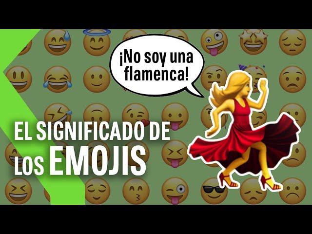 El VERDADERO significado de los EMOJIS: ni la flamenca es una flamenca ni esa cara está enfadada