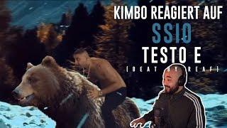 Kimbo Reagiert Auf SSIO   TESTO E (Official Video) | Ssio Testo E Reaction Video