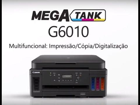 Canon MEGA-TANK Multifuncional Colorida