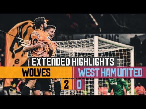 Dendoncker and Cutrone extend unbeaten run!    Wolves 2-0 West Ham United   Extended Highlights
