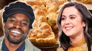 Which Celebrity Makes The Best Apple Pie? • Celebrity Recipe Royale thumbnail