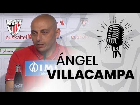 🎙️ Ángel Villacampa I post Athletic Club 1-1 Levante UD Femenino I J16 Primera Iberdrola