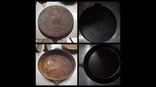 cast iron skillet restoration #1