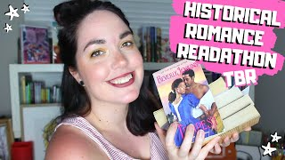 Historical Romance Readathon TBR