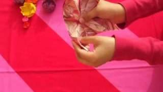 Origami Water lily . زنبقة الماء بالورق