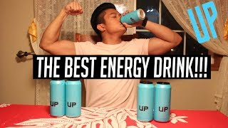 MY NEW FAVORITE DRINK! | BLUE UP ENERGY REVIEW