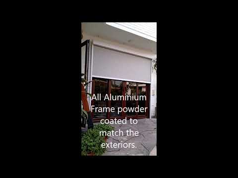 Outdoor Solar Blind