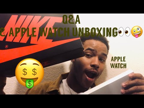First Ever Q&A👀🤫 & Unboxing of Apple Watch🤑🧭W/ Lil Chris