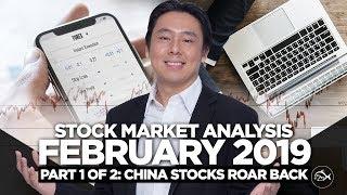 Stock Market Analysis Feb 2019 Part 1 Of 2: China Stocks Roar Back