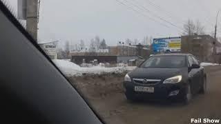 Мгновенная карма.Мгновенная карма на дороге 2017. #4